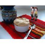 Рисовый пудинг с яблоком и меренгой