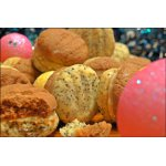 Печенье песочное с кремом из халвы 'Раз печенька, два печенька... пять'