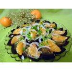 Свекольно-мандариновый салат