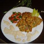 Полезный гарнир или просто овощные оладьи
