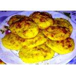 Нежные картофельные лепешки с печенью