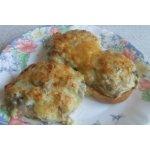 Горячие бутербродики с грибами