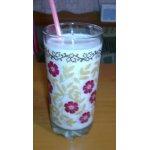 Молочный коктейль с бананом и овсянкой