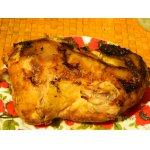 Курица, запечeнная с мукой