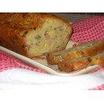 Закусочный кекс с ветчиной, горчицой и шампиньонами