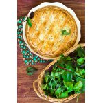Неаполитанский пасхальный пирог с пшеницей