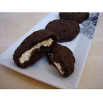 """""""Шоколадные"""" гипоаллергенные печенюшки с творожной начинкой"""