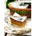 Пирог с медом, кедровыми орехами и розмарином