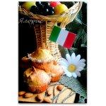 Кексы с орехами и цукатами (Dolci con frutta candita e noci)