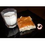 Быстрый пирог-суфле с картофелем и брынзой