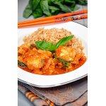 Рыба с карри в томатном соусе