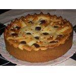 Творожно-сливовый пирог