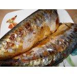 Копченая рыба и копченая куриная грудка