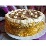 Торт эклерный с вишней