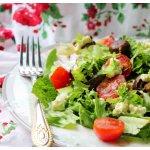 Теплый салат Проще некуда