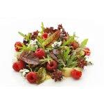 Салат фруктовый с сыром рокфор