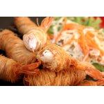 Креветки фри в рисовой лапше