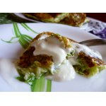 Кабачково-сырные оладьи «Легко, просто и за фигуру не страшно»
