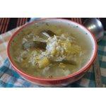 Ливанский зеленый суп с рисом