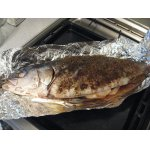 Запекание рыбы в фольге