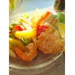 Спаржевый салат  с авокадо