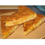 Сырная лепешка с сыром