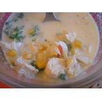 Мексиканский кукурузный суп
