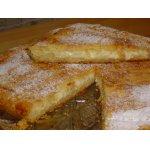 Пирог Нежность с творогом и яблоками