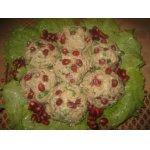 Праздничное пхали из капусты
