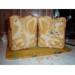"""Двухцветный хлеб """"Завитушка"""""""