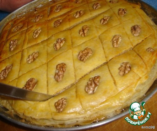 Индийская пахлава рецепт с фото