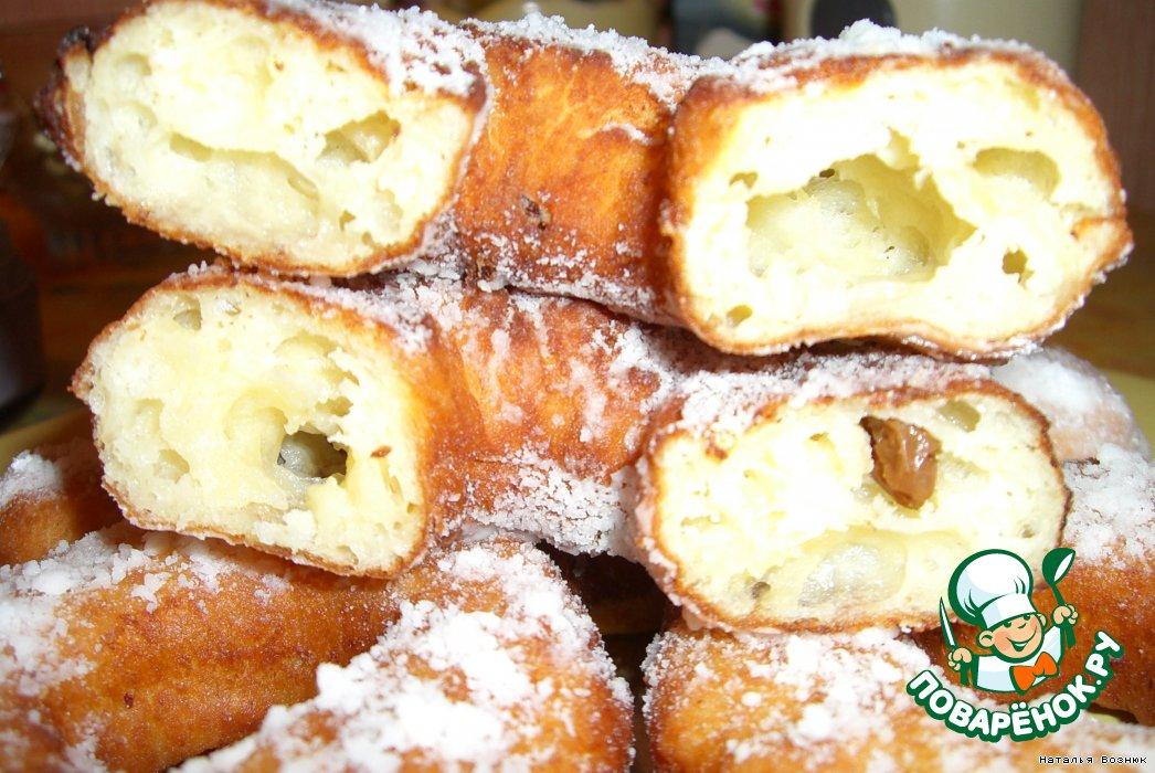 Воздушные пончики рецепт пошагово
