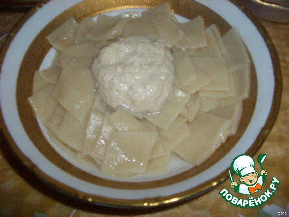 Тонкий хинкал рецепт с фото