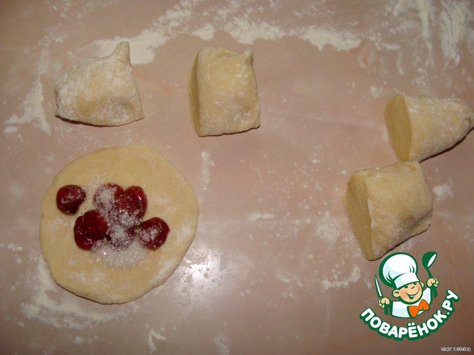 Тесто для вареники с вишней рецепт с пошагово