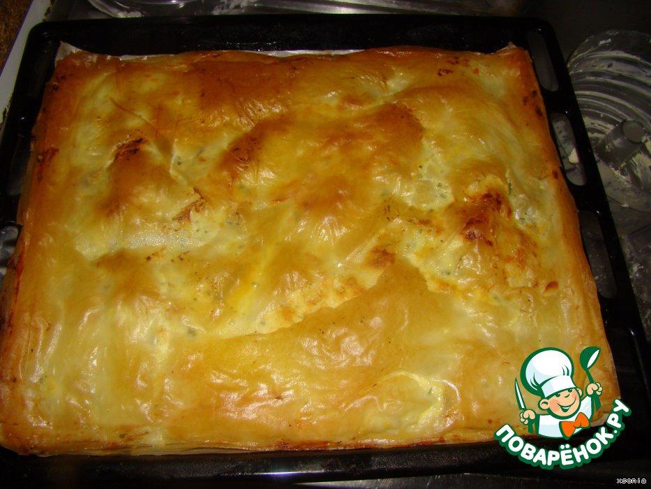 Тесто фило рецепты с сыром из него пошагово