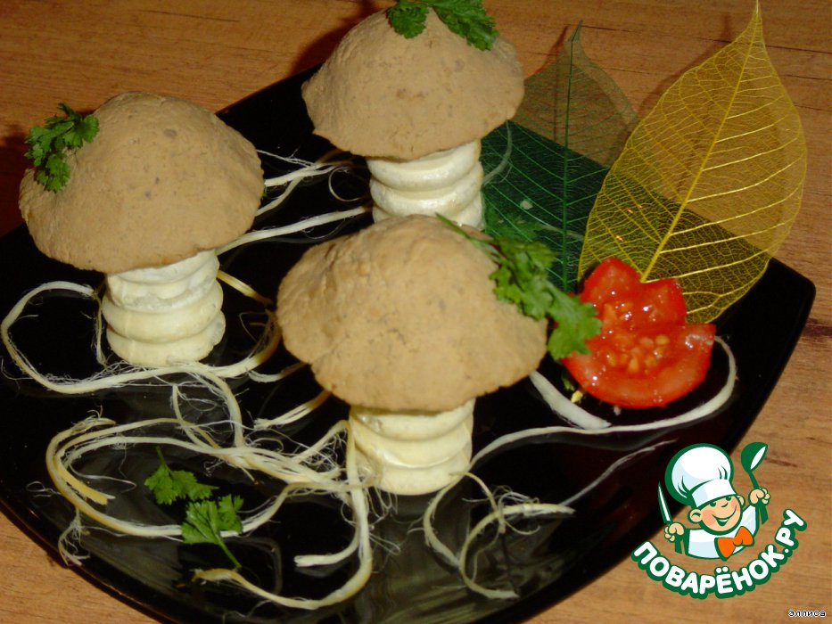 Рецепт закуска грибная полянка рецепт с