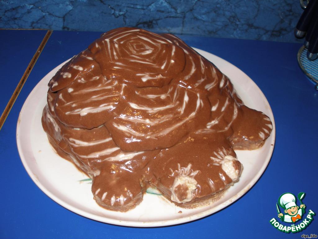 Торт Черепаха Пошаговая Инструкция С Фото