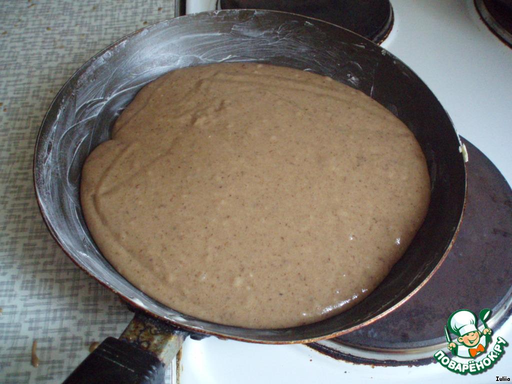 торт трухлявый пень с какао рецепт с фото