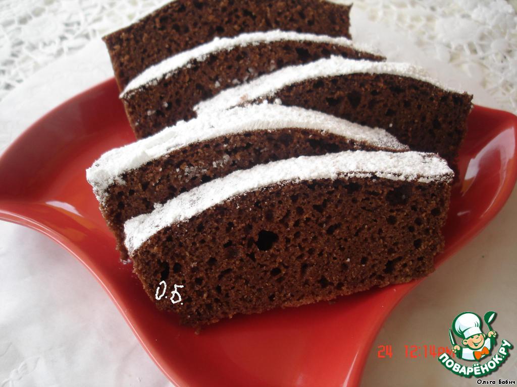 как приготовить кекс на сметане с шоколадом