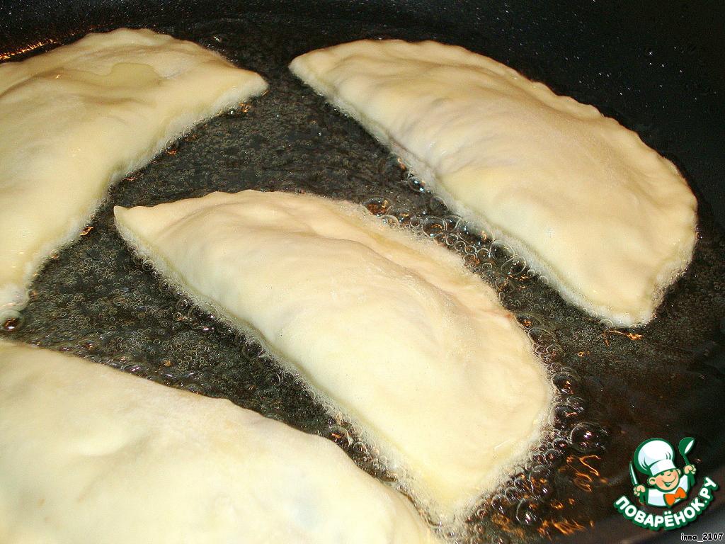 Классическое тесто для чебуреков вкусное