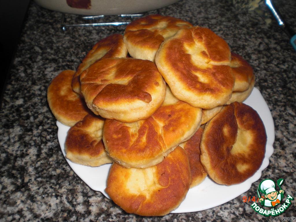 воздушные пирожки рецепт с фото