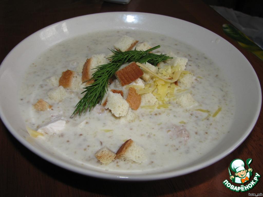 Сырный суп грибной рецепт пошагово