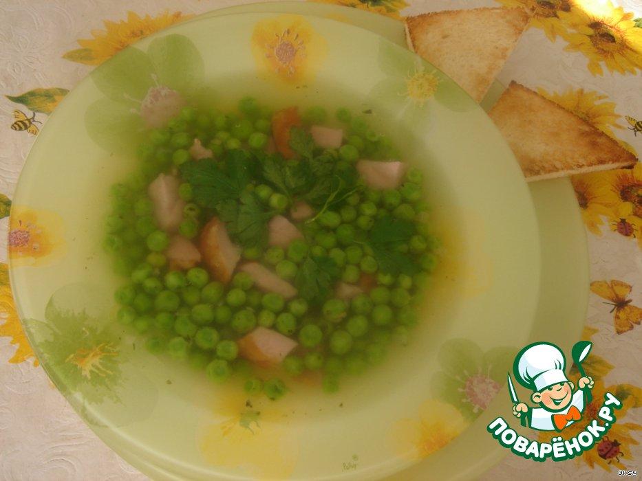 Как варить суп из консервированного горошка