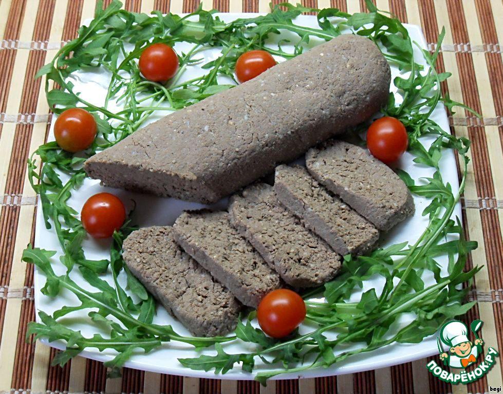 Рецепт колбаса из печени