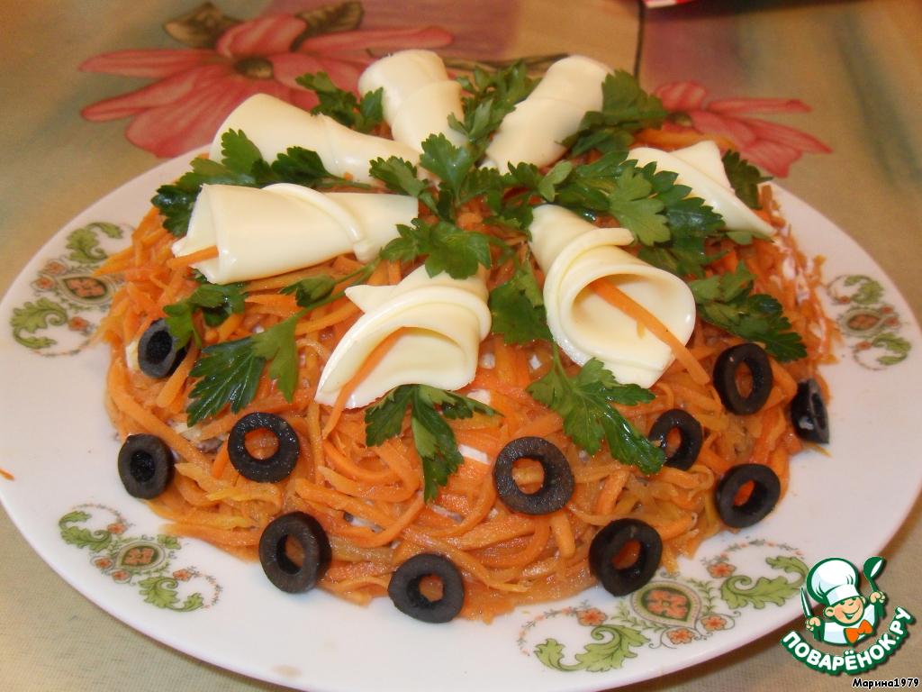 Салат виола рецепт с фото