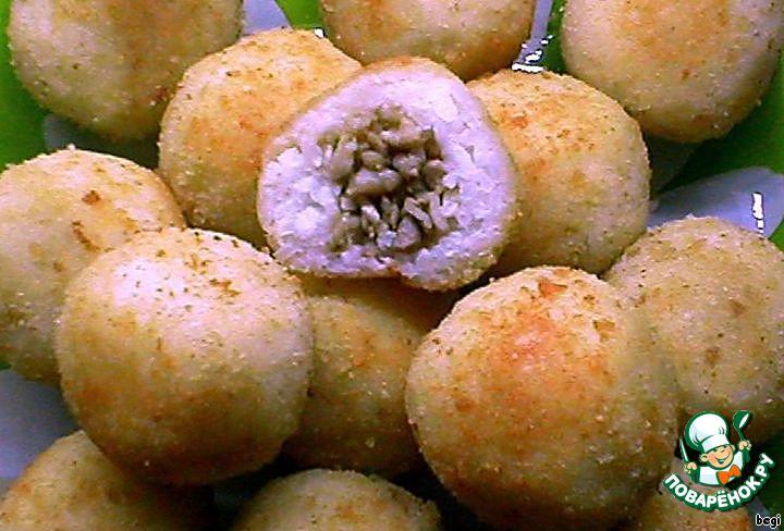 Простой рецепт рисовые шарики