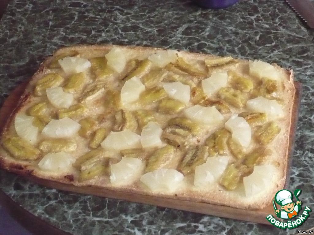 бананы пирог