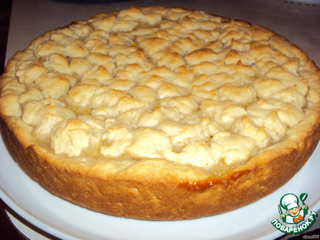 Простой пирог с лимоном рецепт