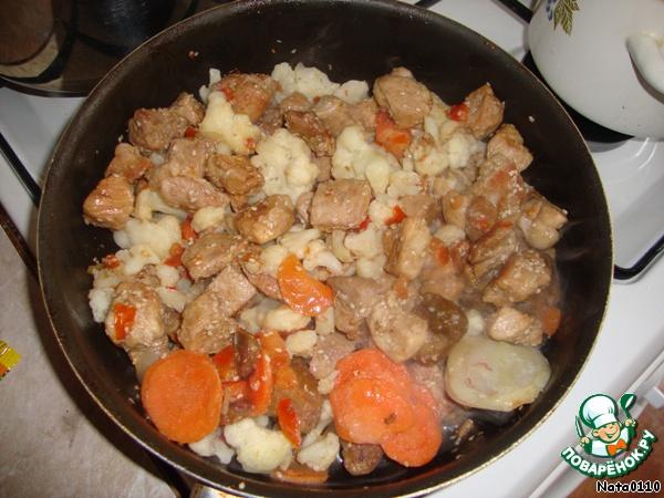 Как готовить мясо с овощами с