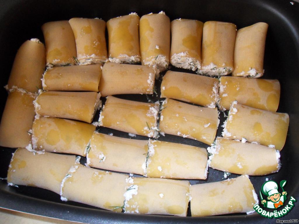 Рецепт фаршированных макарон с фаршем в духовке с пошагово